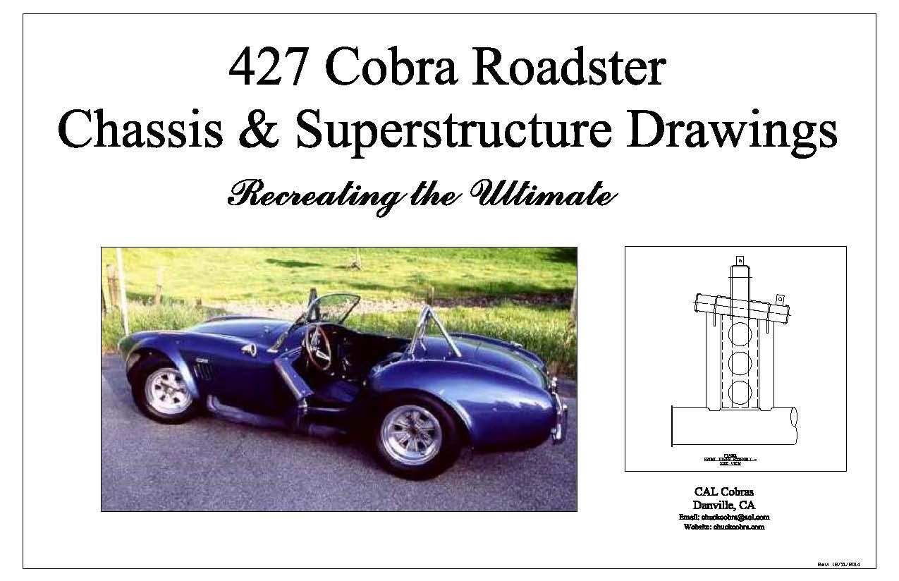 427 Cobra Drawings
